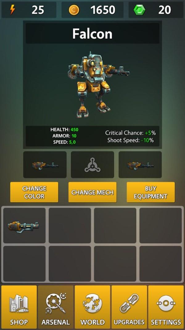 机甲泰坦游戏安卓版