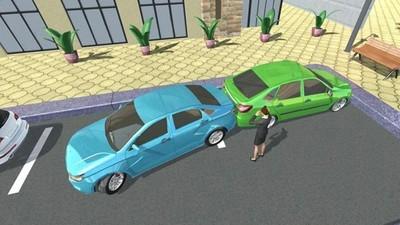 俄罗斯汽车停车游戏