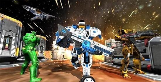 钢铁机器人格斗游戏
