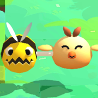 小鸡和蜜蜂游戏