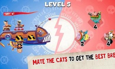 海军猫船战破解版